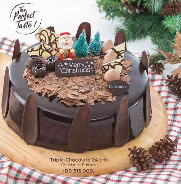 Discount 15 Triple Chocolate Christmas Edition discount from