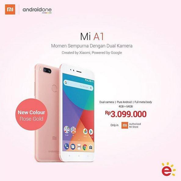Promosi Xiaomi Mi A1 Dari Erafone Nopember 2017 Metropolitan Mall Cileungsi