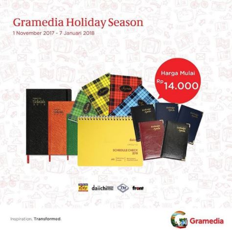 Promotion Gramedia Holiday Season