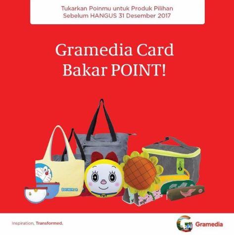 Promotion Gramedia Card Burn Points