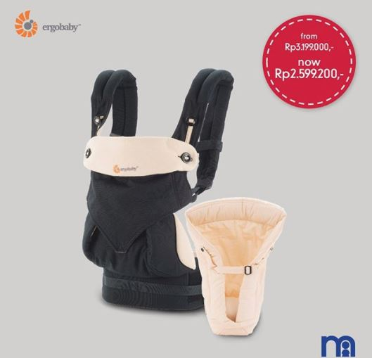 e3f69f965c1 Price Promo Ergobaby 360 Bundle - Black Camel from Mothercare  h3