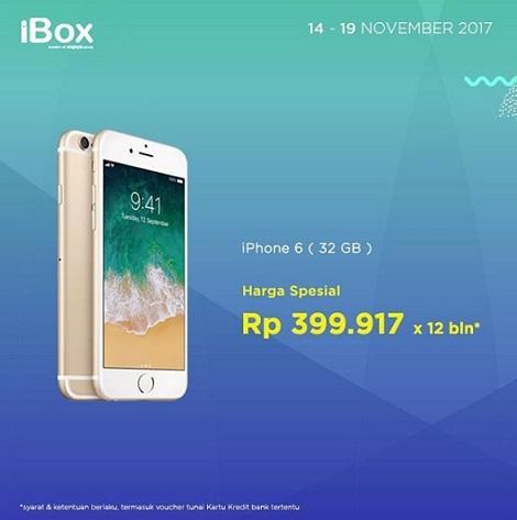 Harga Spesial Iphone 6 32 Gb Di Ibox Mal Ratu Indah