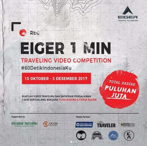 Eiger 1 Minute Traveling Video Competition