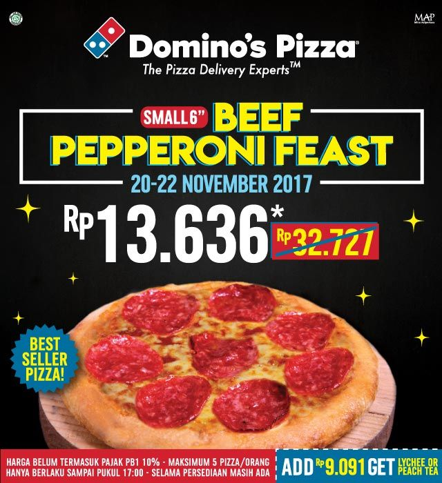Special Price From Domino S Pizza Thamrin City