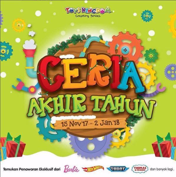 Ceria Akhir Tahun Event at Toys Kingdom