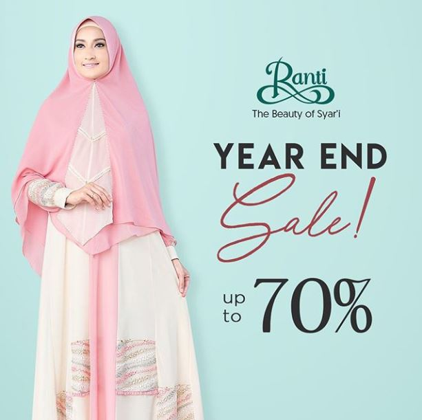 Year End Sale Up to 70% at Ranti Gallery