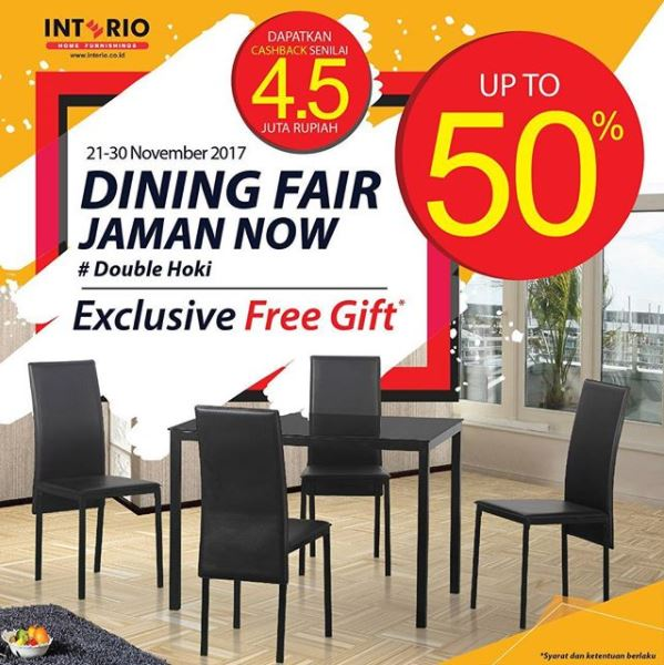 Discount Up to 50% from Interio