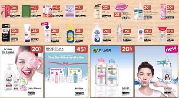 Discounts up to 45% of the Watsons in Plaza Pondok Gede
