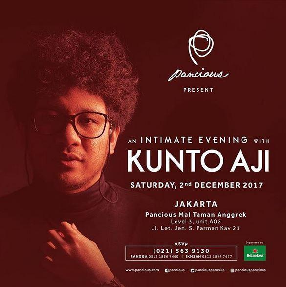 An Intimate Evening with Kunto Aji at Pancious Mal Taman Anggrek