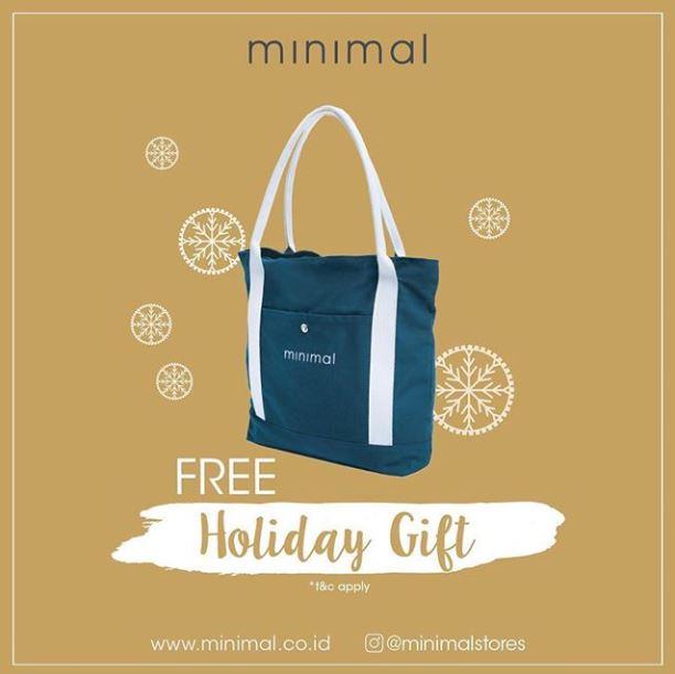 Free Bag from MInimal