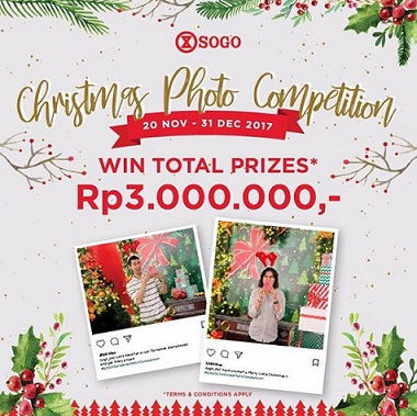 Christmas Photo Competition from SOGO Department Store