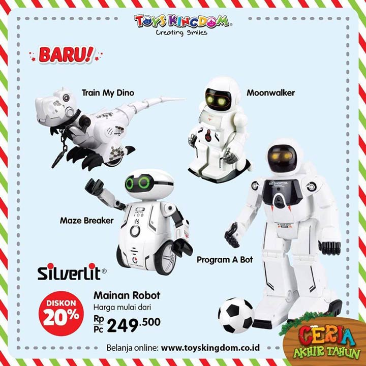 Discount 20% from Toys Kingdom