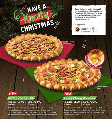 Is Pizza Hut Open On Christmas.Have A Knoty Christmas Promotion At Pizza Hut Hougang Mall