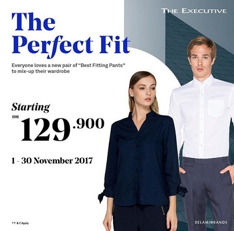 Promo Starting from Rp 129,900 at The Executive