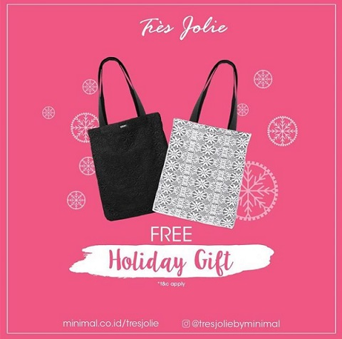 Get Free Lace Bag from Tres Jolie