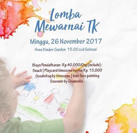 TK Coloring Competition at Level 21 Mall