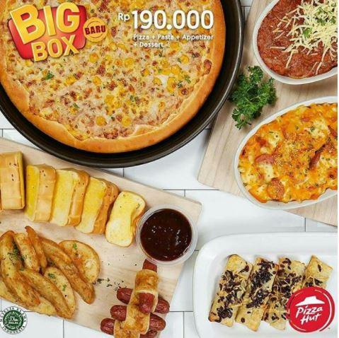 Big Box New at Pizza Hut