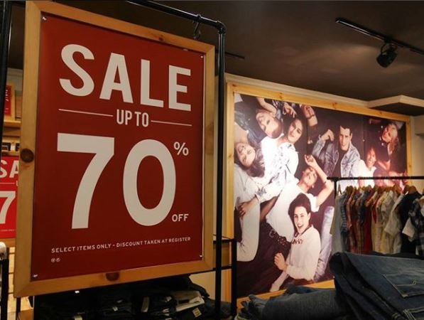 Sale Up to 70% from Levi's