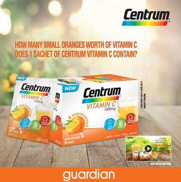 Centrum Vitamin Contest at Guardian
