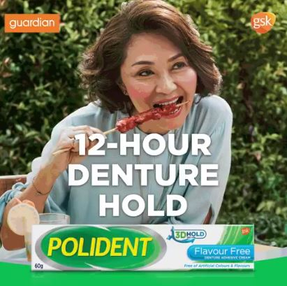 Polident Flavor Free Adhesives Promotion at Guardian