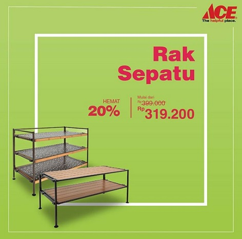Save 20% Shoe Rack Products at Ace Hardware