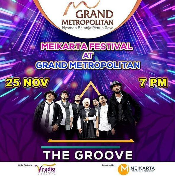 Penampilan Spesial dari The Groove di Grand Metropolitan Bekasi
