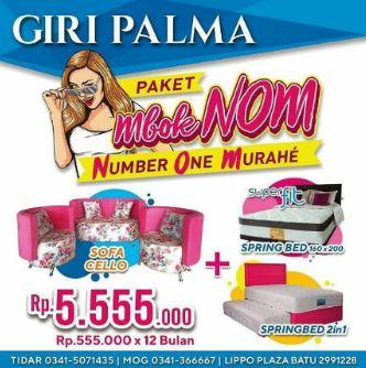 Promotion Special Price Sofa Cello Rp 5.555.000 at Giri Palma