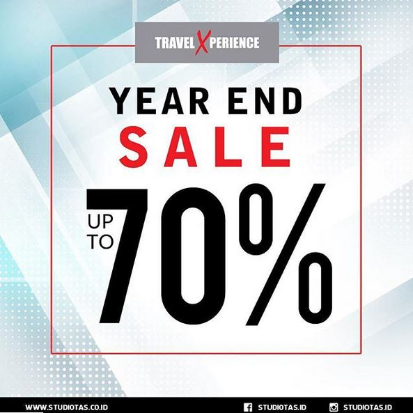 Year End Sale Up to 70% at Travel Xperience