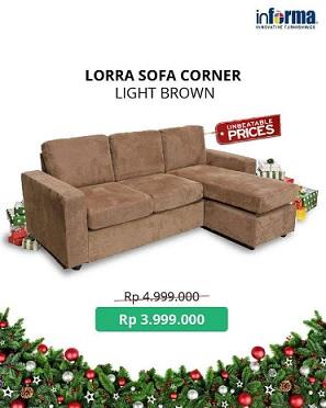 Special Price Lorra Sofa Corner Di Informa Tunjungan Plaza