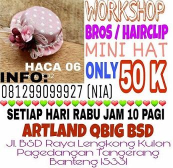 Workshop Bros/Hairclip at Artland QBig BSD City