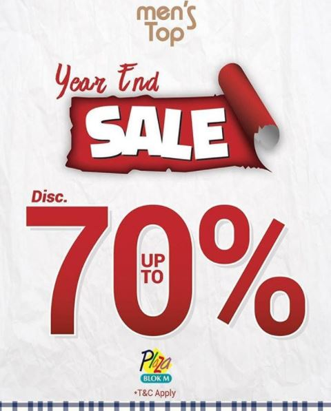 Year End Sale Up to 70% from Men's Top