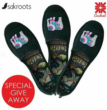 Sakroots Promotion At Central Grand Indonesia