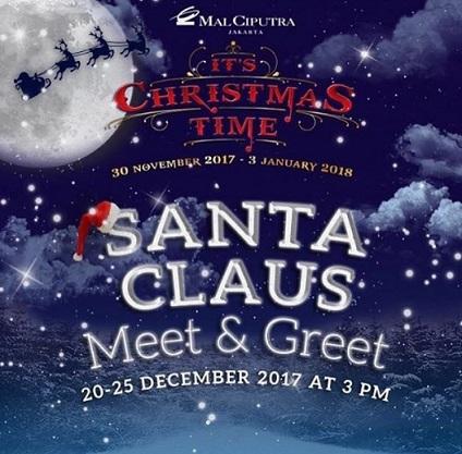 Meet greet santa claus at mal ciputra jakarta gotomalls meet greet santa claus at mal ciputra jakarta m4hsunfo