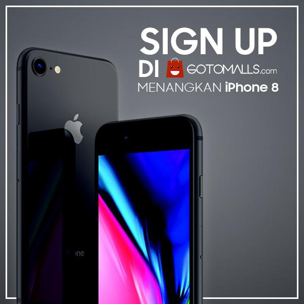 Menangkan iPhone 8 64GB dari Gotomalls