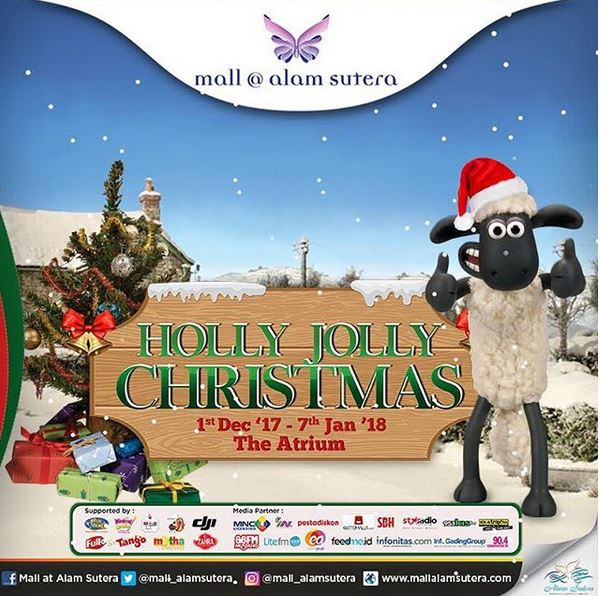 Holly jolly christmas at mall alam sutera mall alam sutera holly jolly christmas at mall alam sutera thecheapjerseys Image collections
