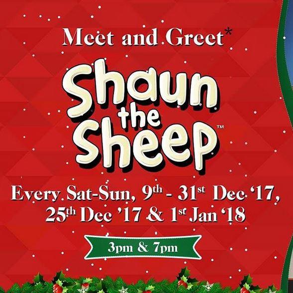 Meet & Greet Shaun the Sheep at Mall @ Alam Sutera