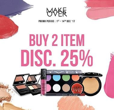 Buy 2 Get Discount 25% Make Over at Matahari Department Store