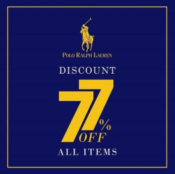 Discount Get 77%  from Polo