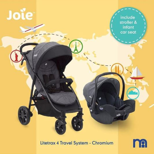 Special Price Joie Litetrax 4 Travel System from Mothercare