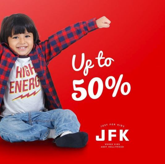 Discounts up to 50% from Just For Kids at Mall Kelapa Gading