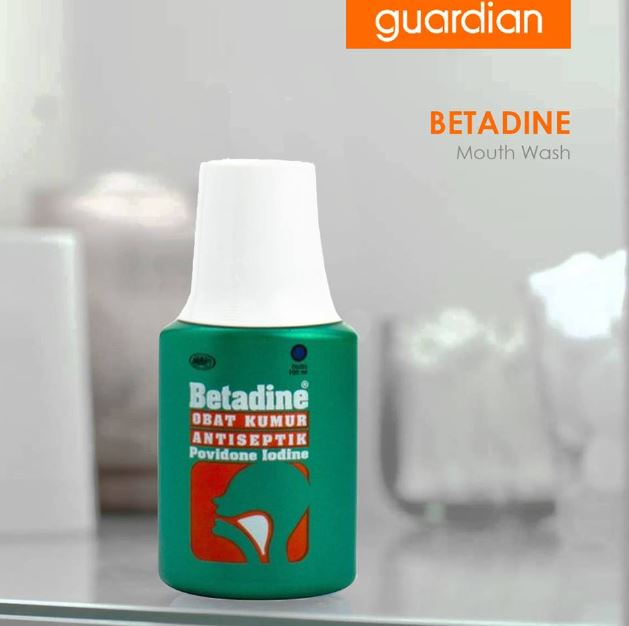 Betadine Mouthwash Promotion at Guardian