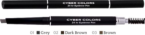 promotion cyber colors 24hr eyebrow pencil at sasa century square