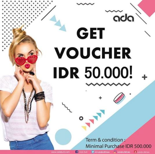 Get Rp 50.000 Voucher from ADA at Hartono Mall Solo</h3>