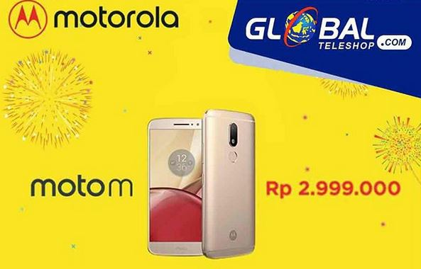 Motorola Moto M Promotion at Global Teleshop