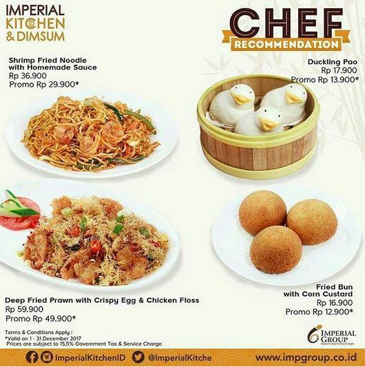 Special Price Promotion At Imperial Kitchen Mal Ciputra