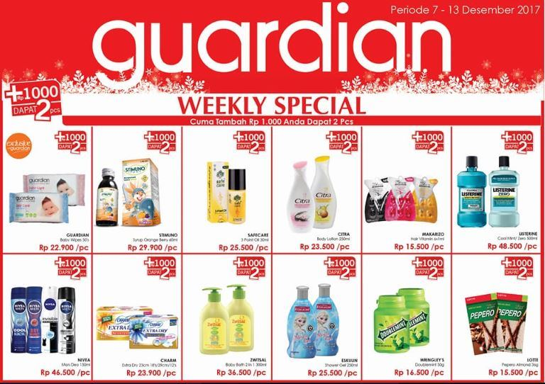 Guardian Weekly Catalog
