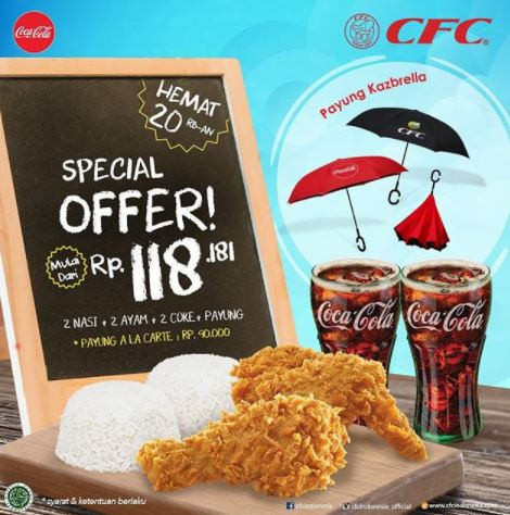 Special Price Promotion from CFC