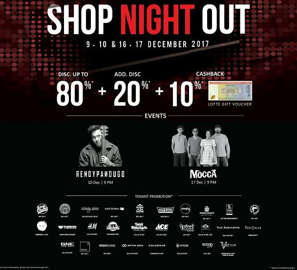 Shop Night Out at Lotte Shopping Avenue