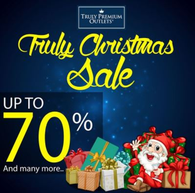 Christmas Sale Up To 70% di Truly Premium Outlets
