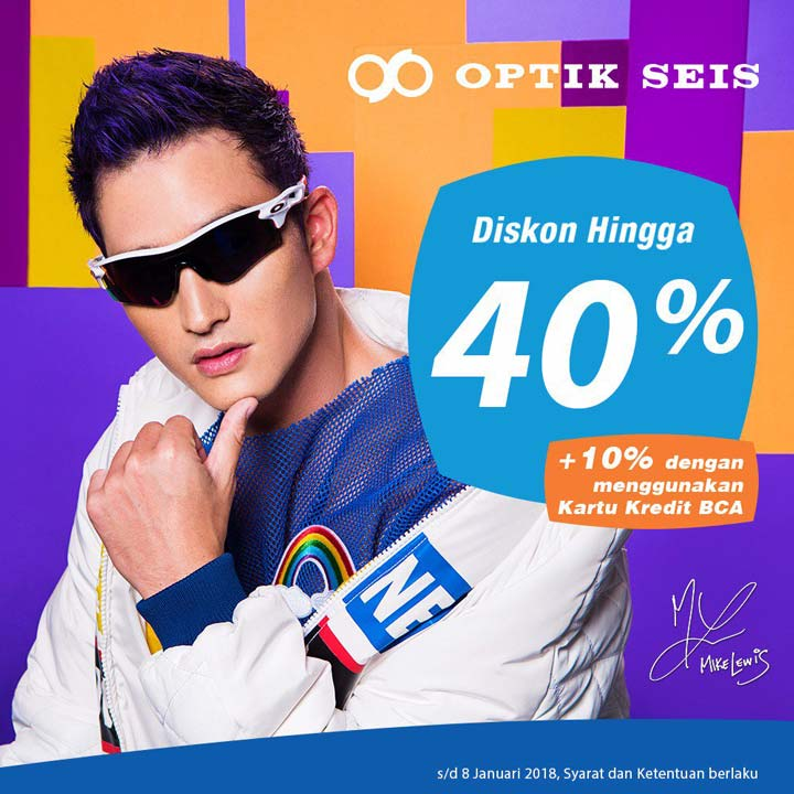 Discount Up to 40% from Optik Seis